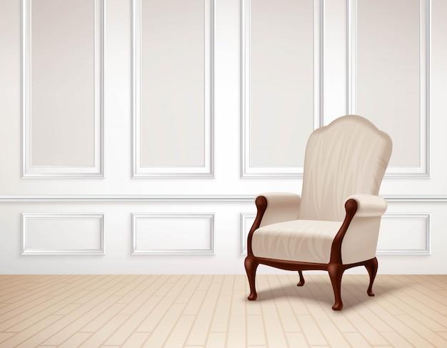 Illustrazione di interni classici