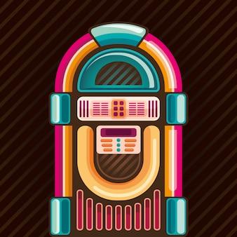 Illustrazione di jukebox