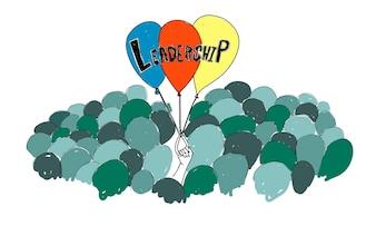 Illustrazione di leadershiptship