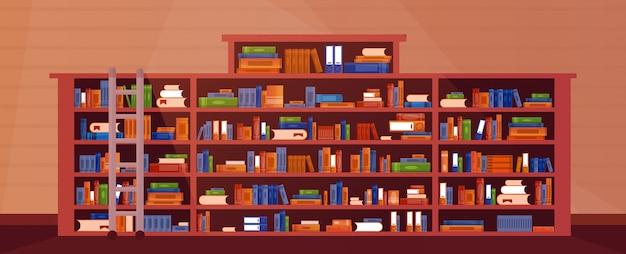 Illustrazione di libreria