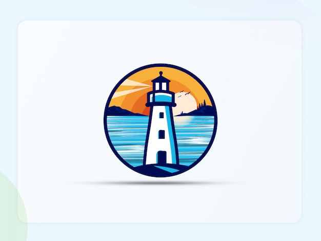 Illustrazione di logo di casa leggera