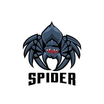 Illustrazione di logo sport ragno