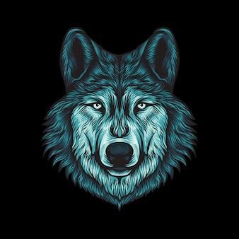 Illustrazione di lupo