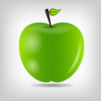 Illustrazione di mela gustosa dolce