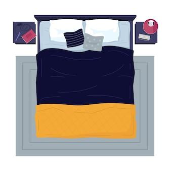 Illustrazione di mobili camera da letto