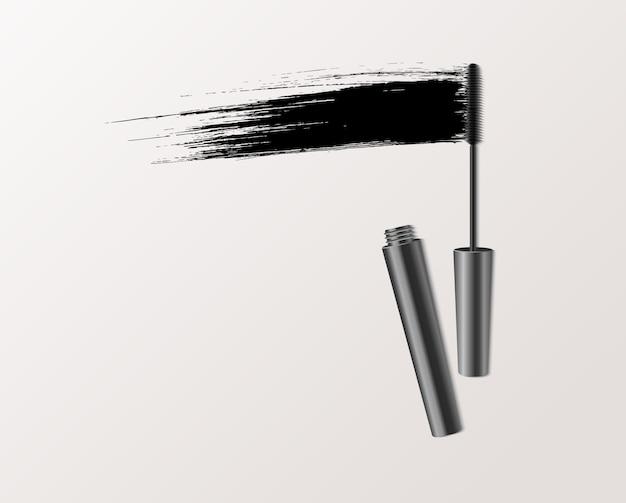 Illustrazione di moda mascara