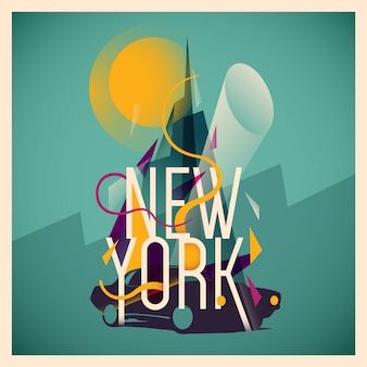 Illustrazione di new york