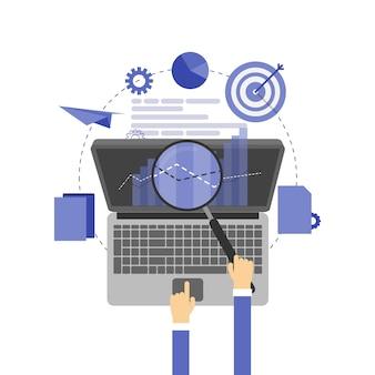 Illustrazione di ottimizzazione dei motori di ricerca