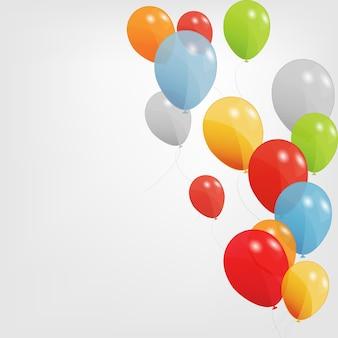 Illustrazione di palloncini colorati