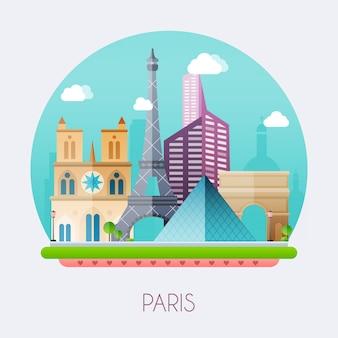 Illustrazione di parigi