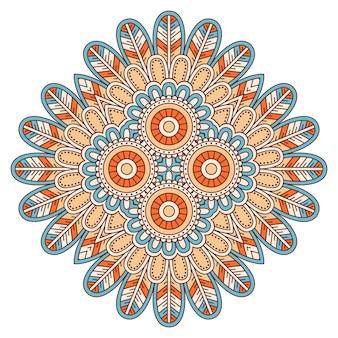 Illustrazione di piastrelle geometriche decorative
