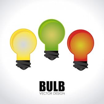 Illustrazione di progettazione della lampadina