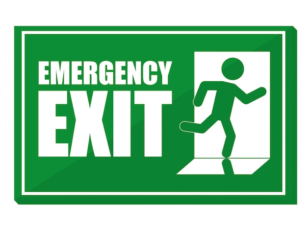 Illustrazione di progettazione di emergenza