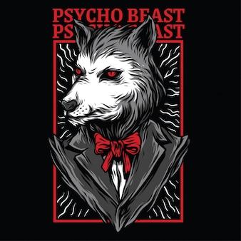 Illustrazione di psycho beast