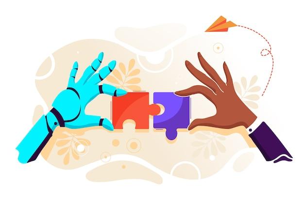 Illustrazione di puzzle