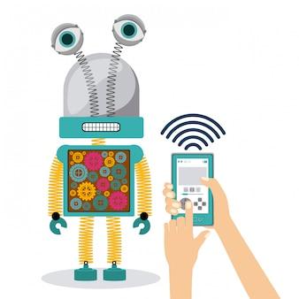 Illustrazione di robot