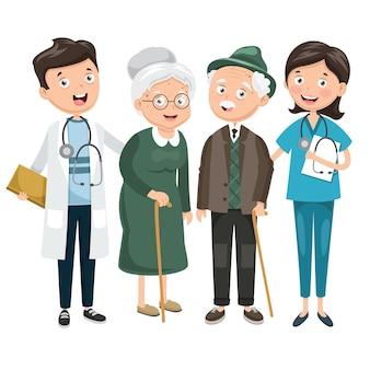Illustrazione di sanità e medicale