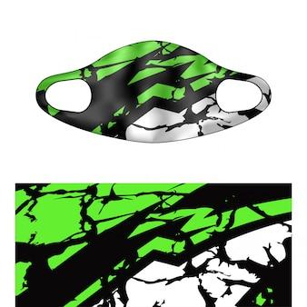 Illustrazione di scuba masker