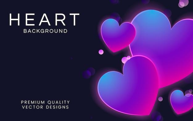 Illustrazione di sfondo del cuore