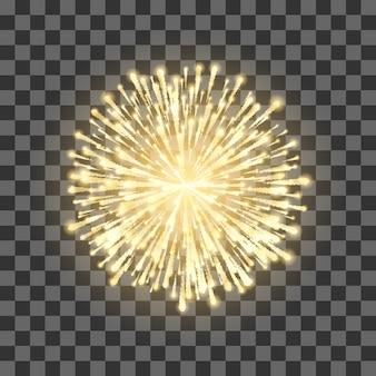Illustrazione di sfondo di fuochi d'artificio