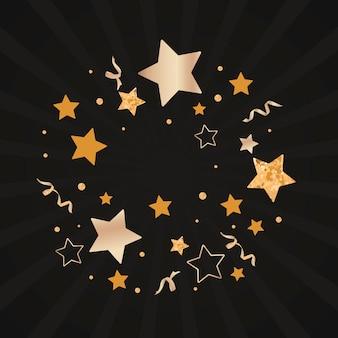 Illustrazione di sfondo stelle