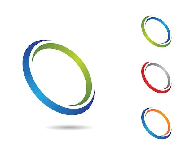 Illustrazione di simbolo del cerchio