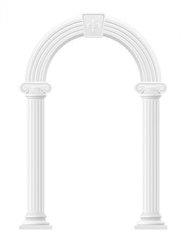 Illustrazione di stock di arco antico