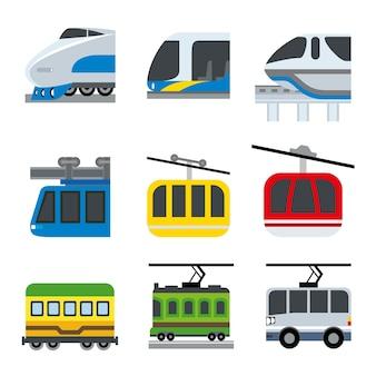 Illustrazione di trasporto di veicoli auto trasporto