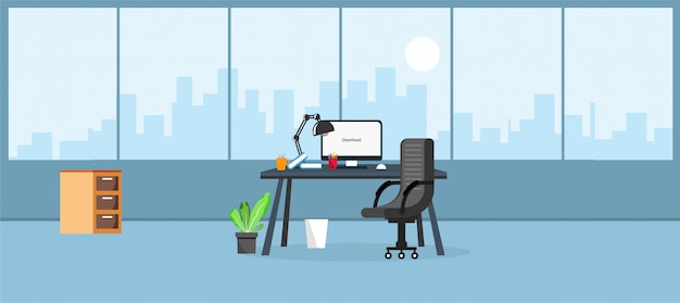 Illustrazione di ufficio