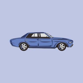 Illustrazione di un'auto classica