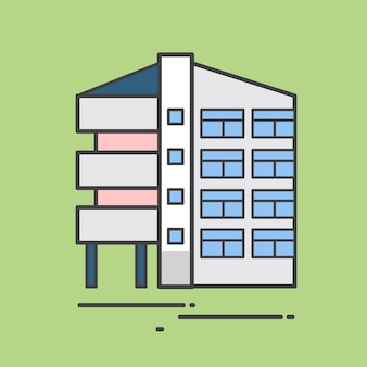 Illustrazione di un condominio