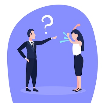 Illustrazione di un conflitto di affari