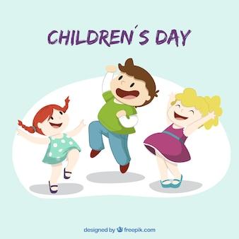 Illustrazione di una giornata dei bambini
