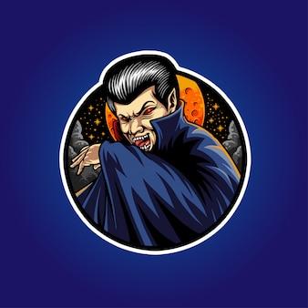Illustrazione di vampiro