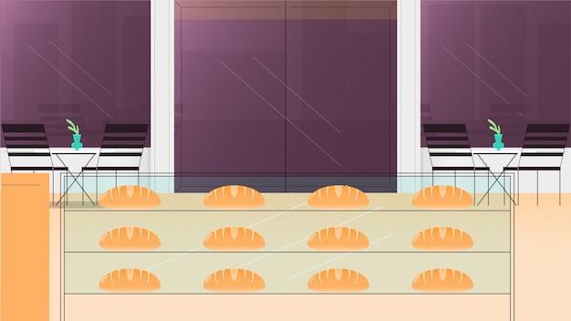 Illustrazione di vettore del fondo del forno