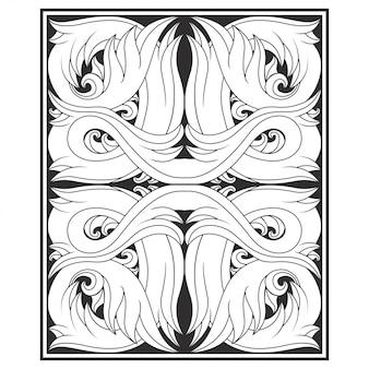 Illustrazione di vettore dell'illustrazione fiore / floreale