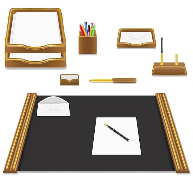 Illustrazione di vettore dell'ufficio della cancelleria