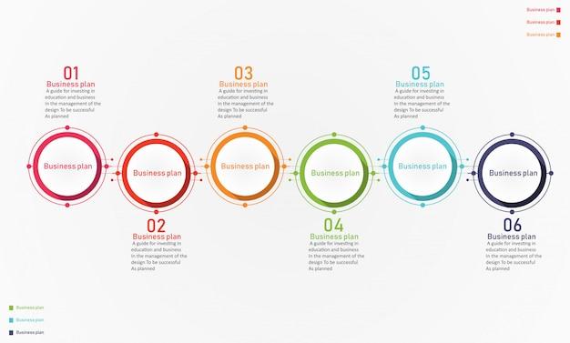 Illustrazione di vettore di affari e istruzione del diagramma