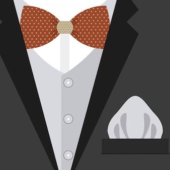 Illustrazione di vettore di disegno di vestiti