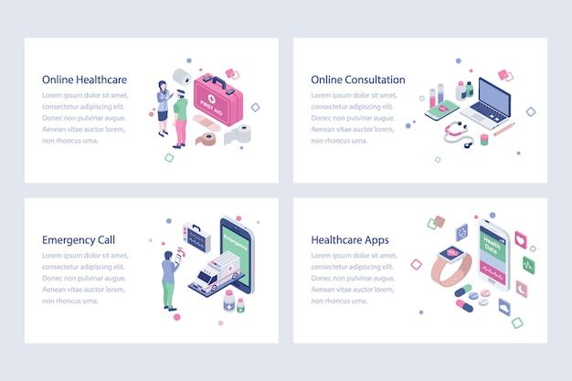 Illustrazione di vettori medici e sanitari