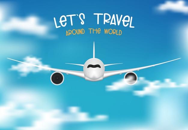Illustrazione di viaggio e turismo