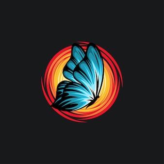 Illustrazione farfalla design