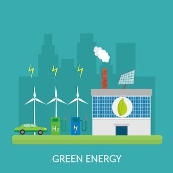 Illustrazione infographic degli elementi di ecologia e rischi e inquinamento ambientali. vita cittadina.