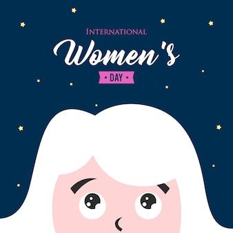 Illustrazione internazionale della giornata della donna