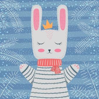 Illustrazione invernale carino