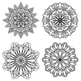 Illustrazione mandala