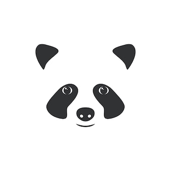Illustrazione museruola piccolo panda.