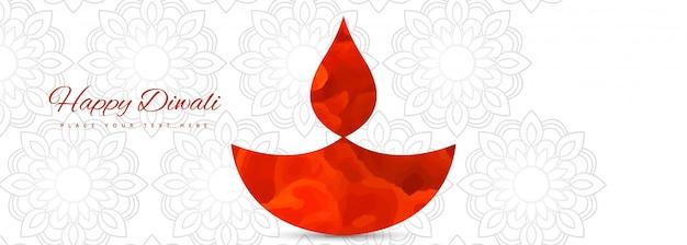 Illustrazione o biglietto di auguri del festival diwali