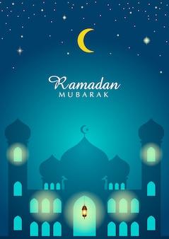 Illustrazione per il mese del ramadan