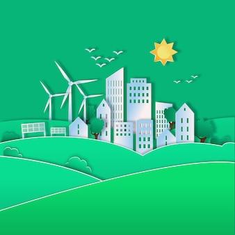 Illustrazione per la giornata mondiale dell'habitat
